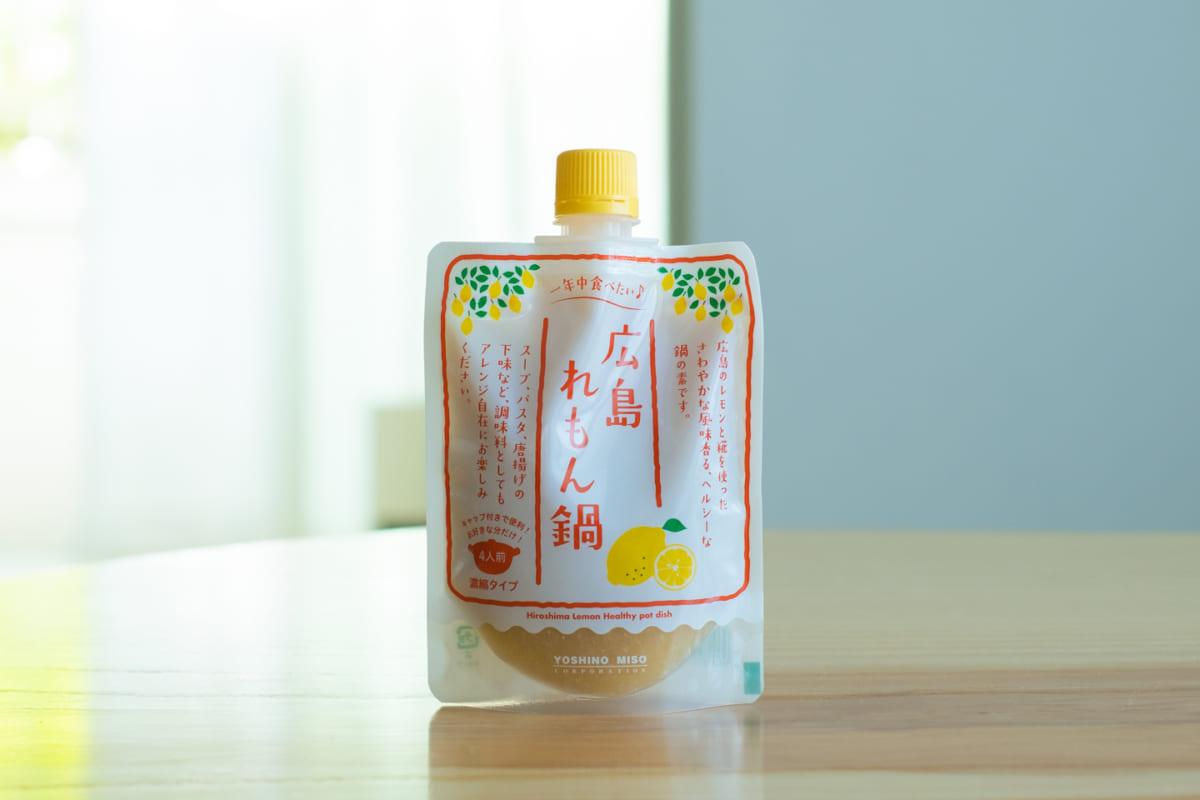よしの味噌『広島れもん鍋[180g]』